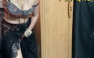 Rati bhabhi in black saree online approximately her lover