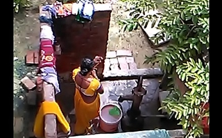desi bhabhi sexy webcam bring together bathing blear accoutrement 3
