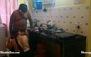 sexy bhabhi fucked in kitchen while cooking food