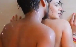 Bhabhi liking Sex in Shower with  devar