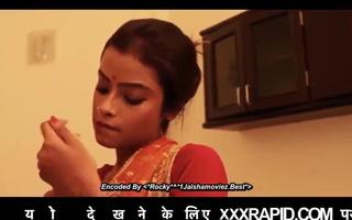 Indian couple Kitchen romance