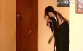 DESI BHABHI Clening Bedroom & TOILET Hot Figure